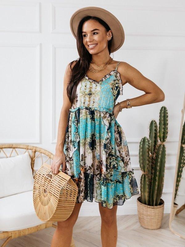 Sukienka Bari Błękitna