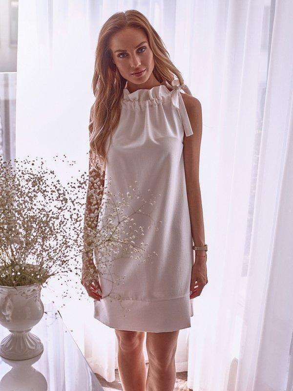 Sukienka Heaven Pudrowa