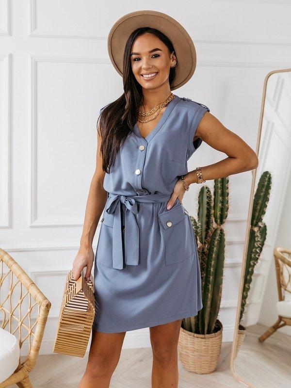 Sukienka Gigi Niebieska