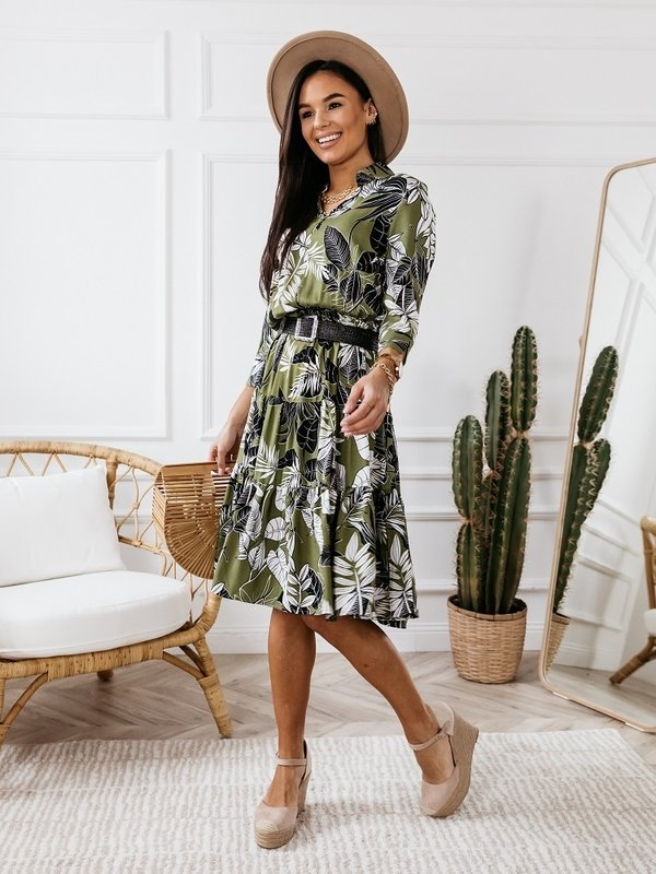Sukienka Tropicana Zielona