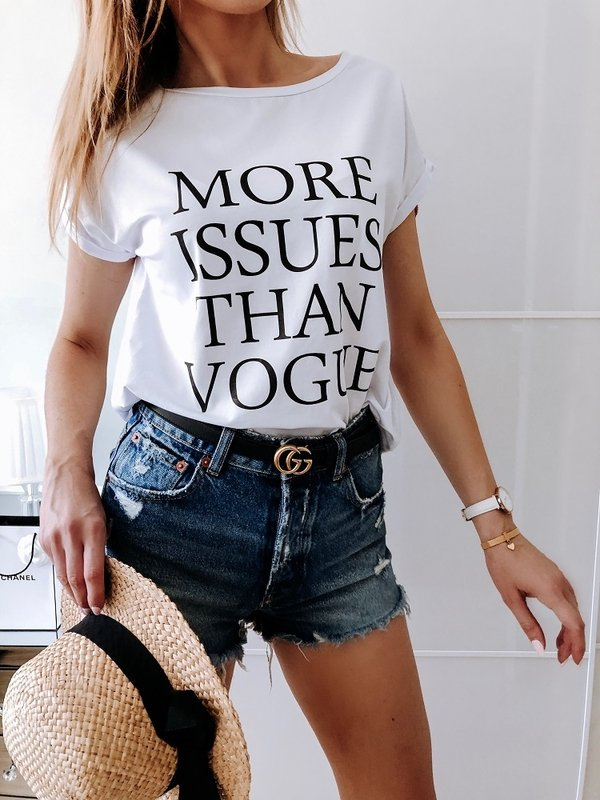 Bluzka Vogue Biała
