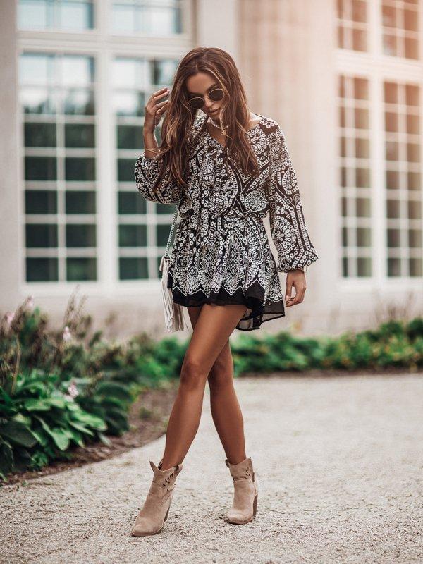 Sukienka Melody Biała