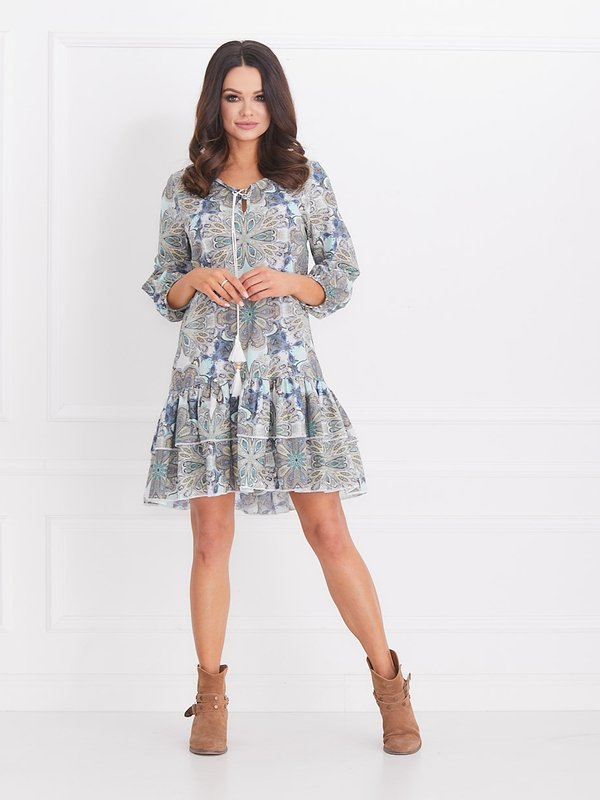 Sukienka Greco Błękitna