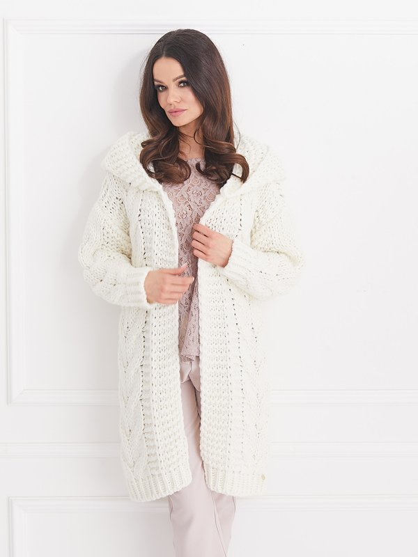 Sweter Daisy Ecru