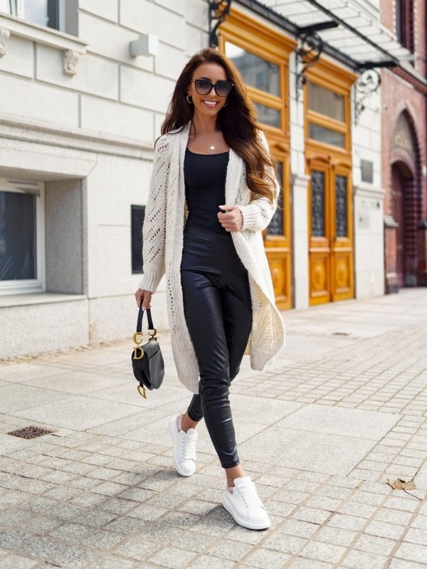 Sweter Rissy Kremowy