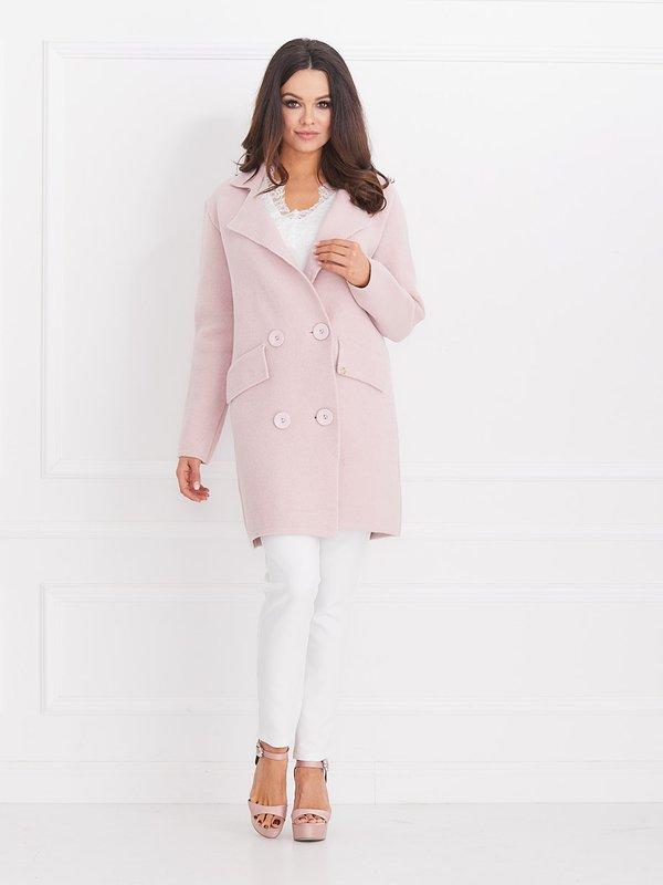 Sweter Glam Różowy
