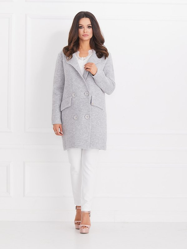 Sweter Glam Szary