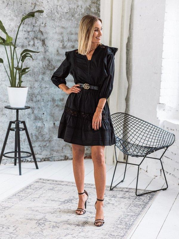 Sukienka Bellito Czarna