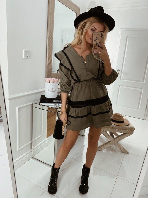 Sukienka Rosane Khaki