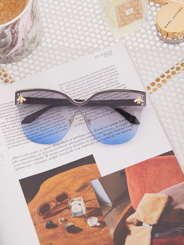Okulary Housefly Niebieskie