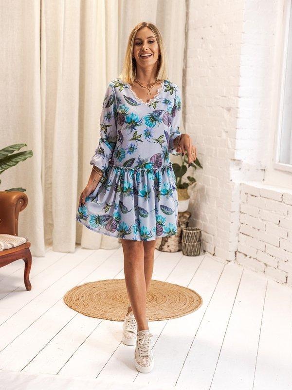 Sukienka Barella Błękitna