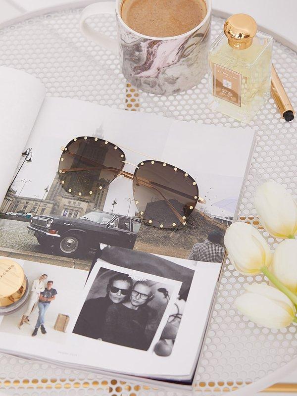 Okulary Grace Szare