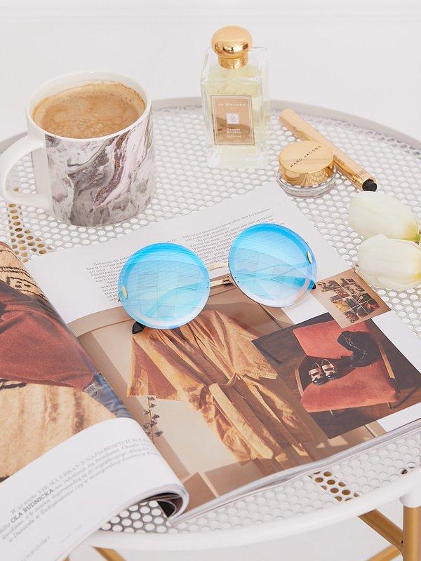 Okulary Mercure Niebieskie