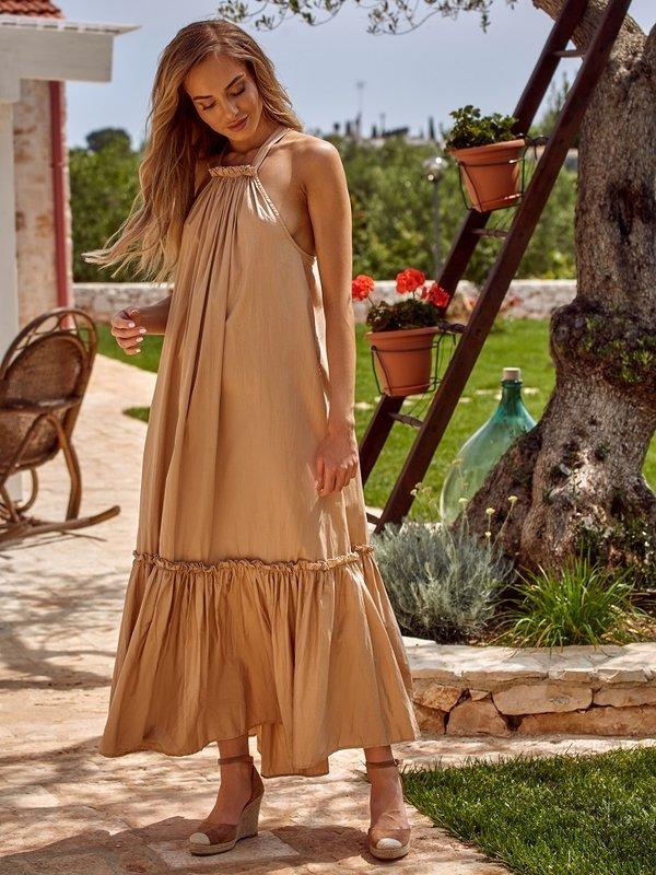 Sukienka Tuberose Beżowa