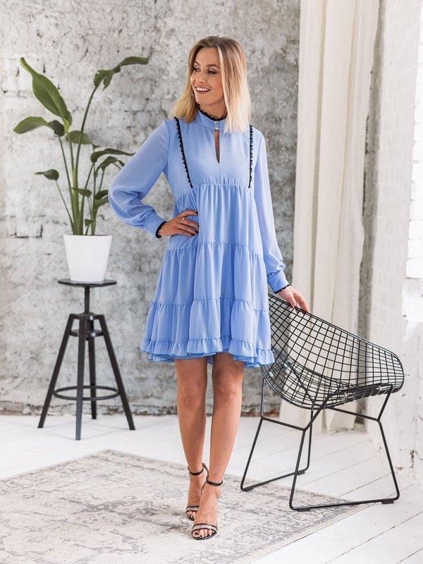 Sukienka Gelaro Niebieska
