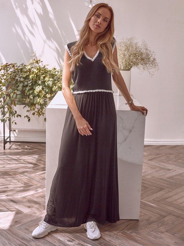 Sukienka Heidi Czarna