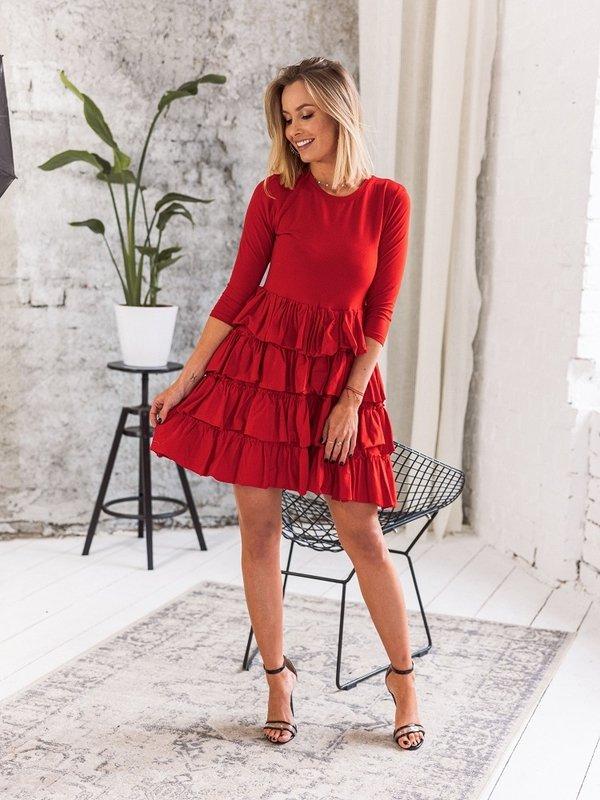 Sukienka Atiene Czerwona