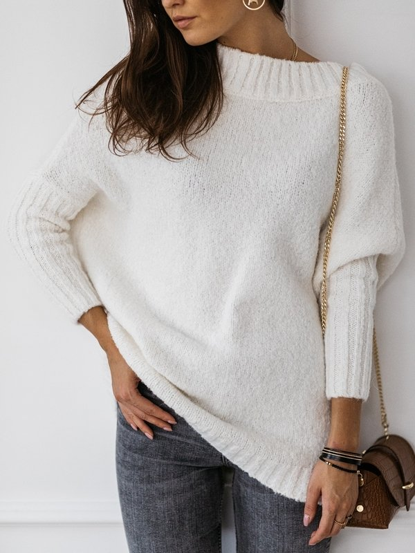 Sweter Tiempo Kremowy