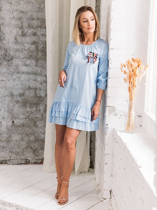 Sukienka Matilda Błękitna