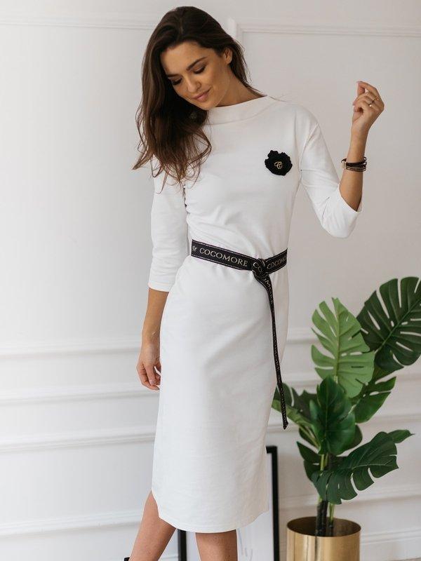 Sukienka Mirolia Kremowa