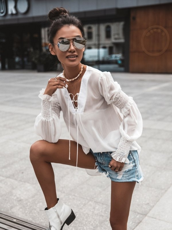 Koszula Lora Biała