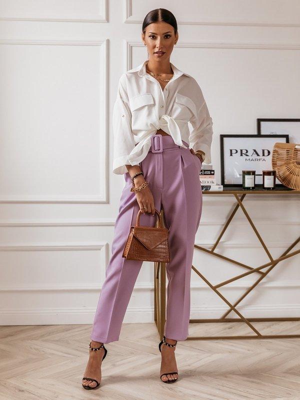 Spodnie Tilton Fioletowe