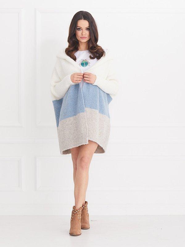 Sweter Berry Błękitny