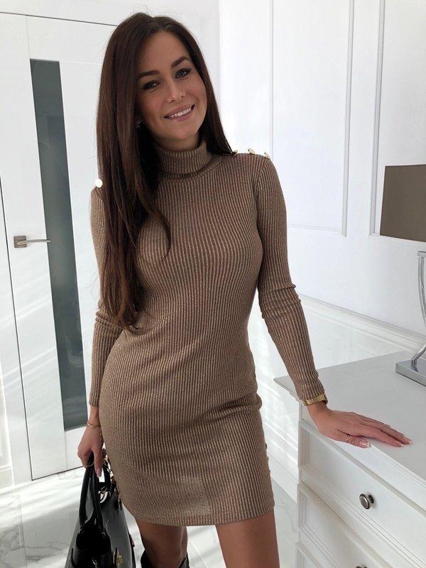 Sukienka Elena Złota
