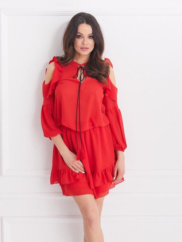 Sukienka Velvet Czerwona