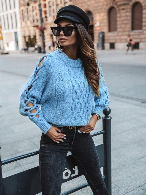 Sweter Cameron Błękitny