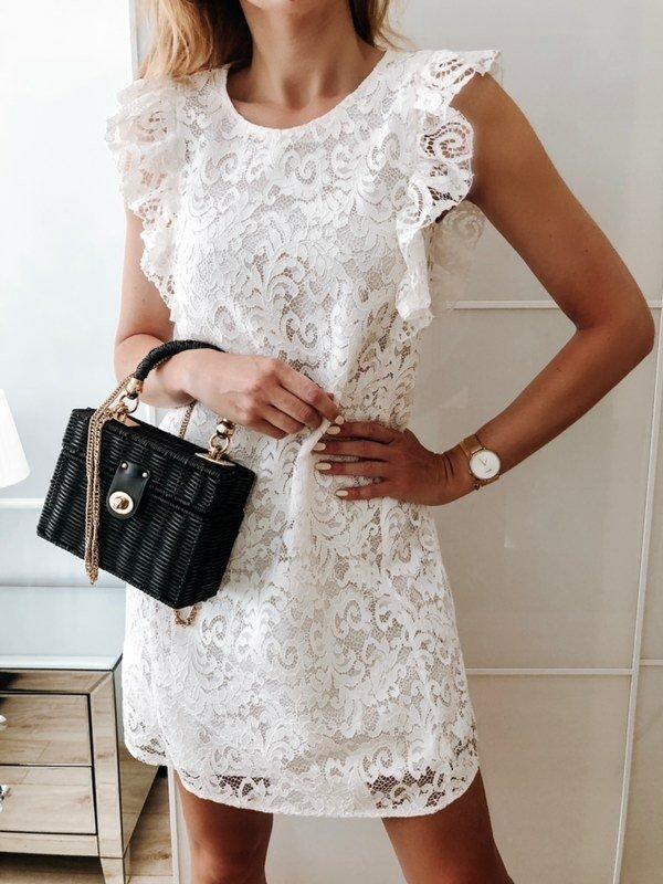 Sukienka Matilda Biała