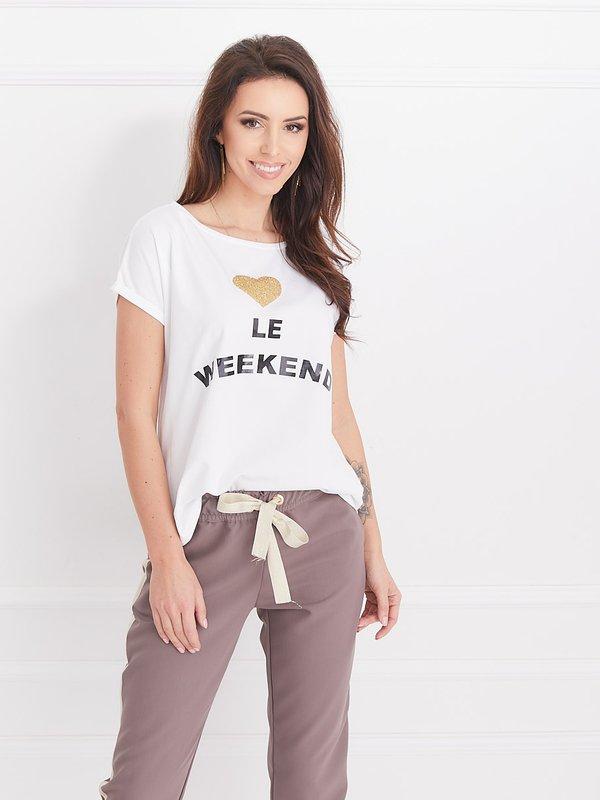 Bluzka Le Weekend Ecru
