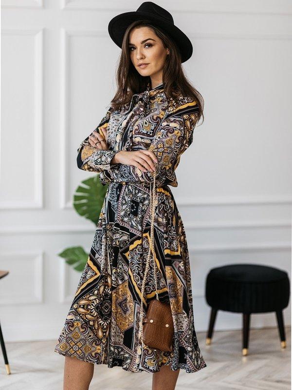 Sukienka Casimir Granatowa