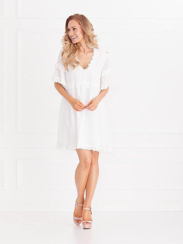 Sukienka Flamenco Biała
