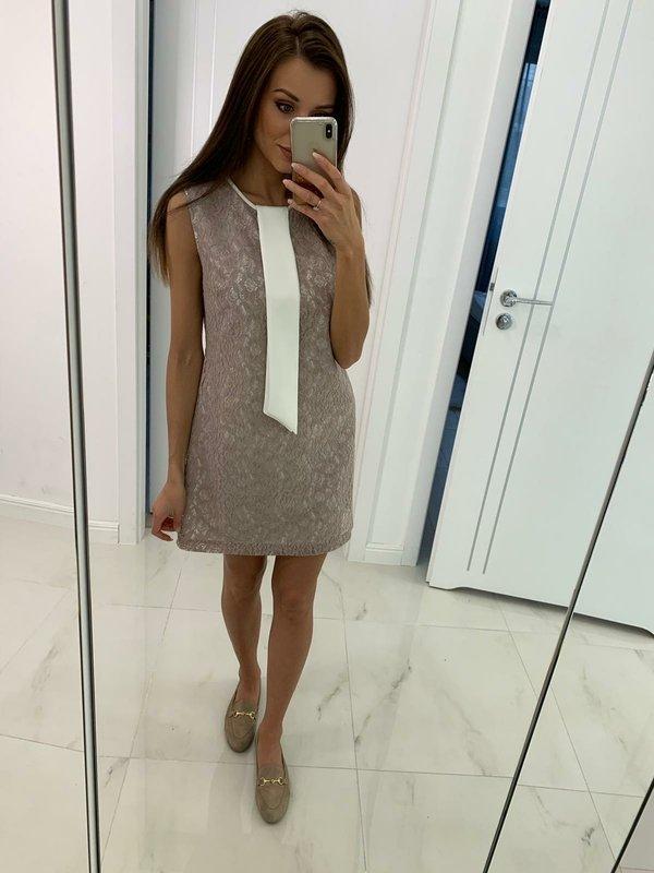 Sukienka Ventura Pudrowa