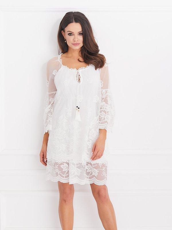 Sukienka Leni Biała