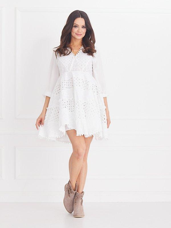 Sukienka Carmelita Biała