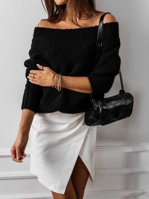 Sweter Tiempo Czarny