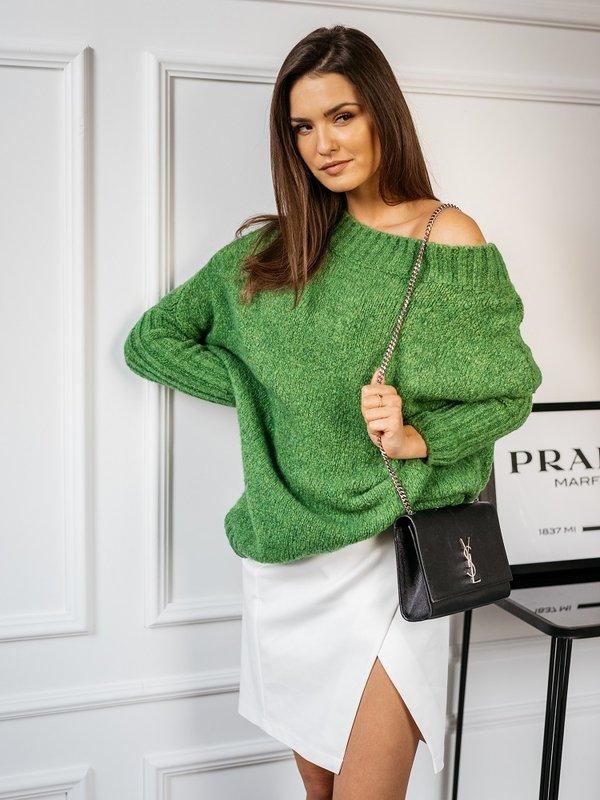 Sweter Tiempo Zielony
