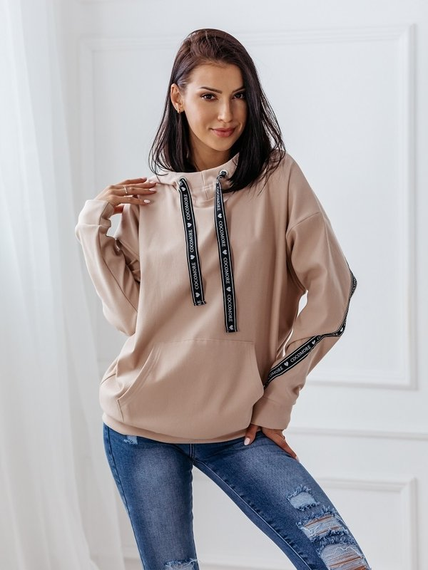 Bluza Insta Pudrowa