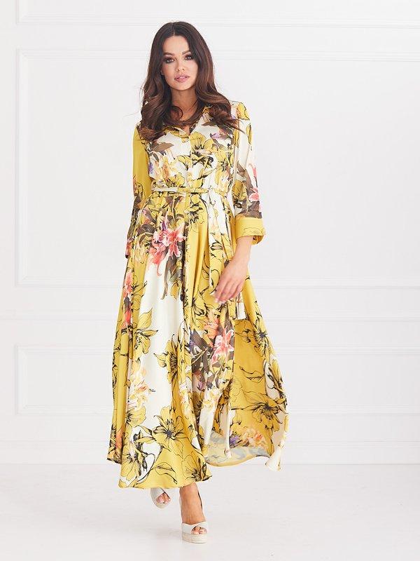 Sukienka Scarlett Żółta