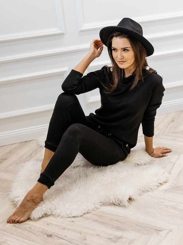 Spodnie Tarla Czarne