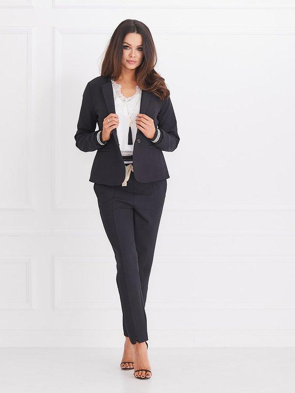 Spodnie Lilie Czarne