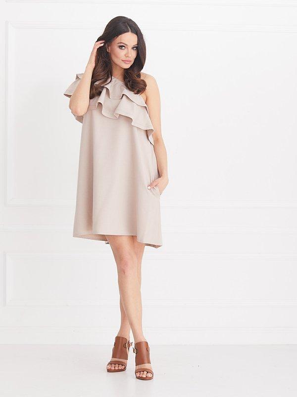 Sukienka Flamant Beżowa