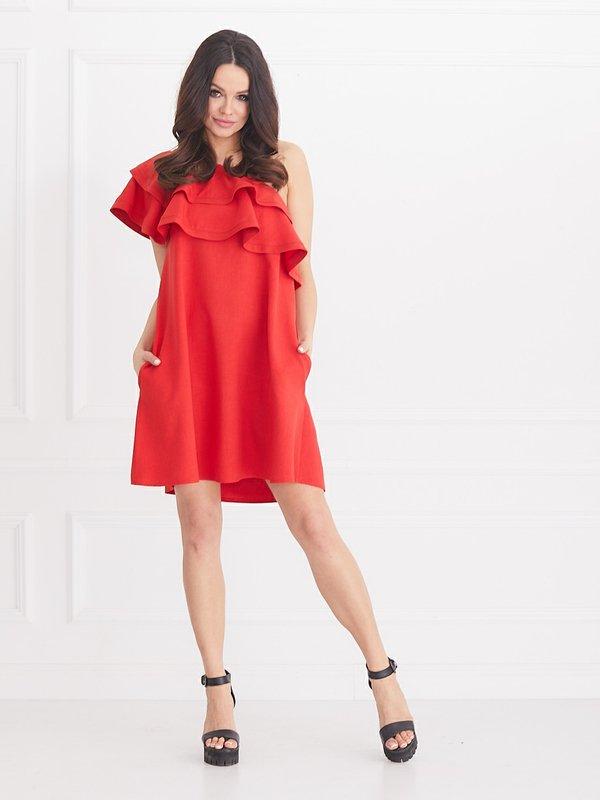 Sukienka Flamant Czerwona