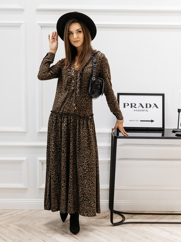 Sukienka Maripose Khaki