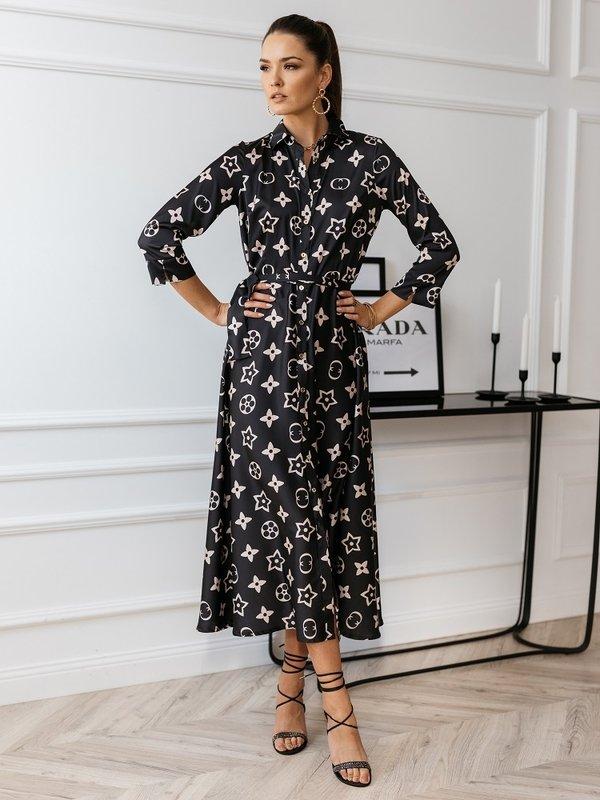 Sukienka Reni Czarna