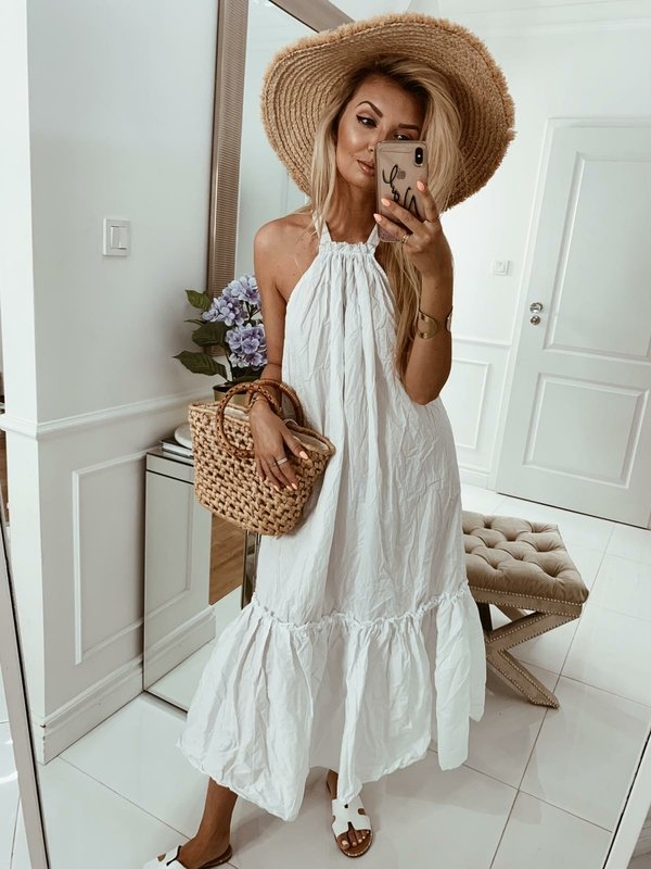 Sukienka Tuberose Biała