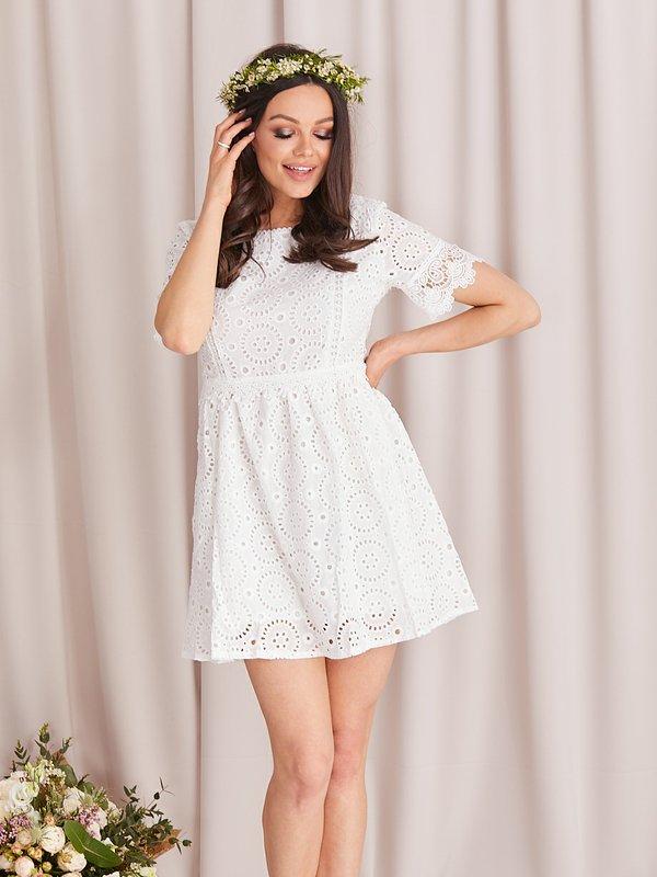 Sukienka Malove Biała