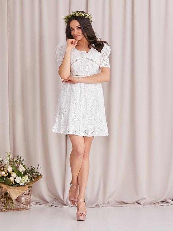 Sukienka Moreiro Biała